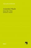 Physik. Vorlesung über Natur. Zweiter Halbband (Bücher V-VIII)