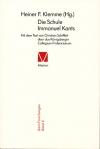 Die Schule Immanuel Kants