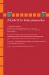 Zeitschrift für Kulturphilosophie 2014/2: Wahrheit