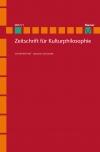 Zeitschrift für Kulturphilosophie 2017/1: Sprache und Gestalt