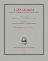 Acta Cusana, Band II, Lieferung 4