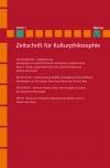 Zeitschrift für Kulturphilosophie 2018/1: Digitalisierung