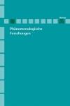 Phänomenologische Forschungen 2006