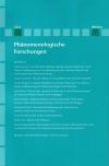 Phänomenologische Forschungen 2012