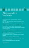 Phänomenologische Forschungen 2014