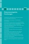 Phänomenologische Forschungen 2017-2