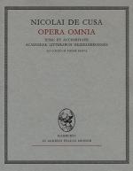 Opera omnia. Volumen XIV/1