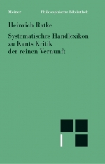 Systematisches Handlexikon zu Kants Kritik der reinen Vernunft
