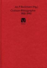 Ockham-Bibliographie 1900-1990