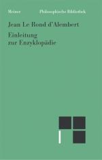 Einleitung zur Enzyklopädie