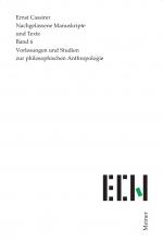 Vorlesungen und Studien zur philosophischen Anthropologie