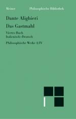 Philosophische Werke. Band 4. Das Gastmahl IV