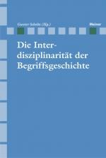 Die Interdisziplinarität der Begriffsgeschichte