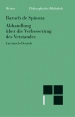 Sämtliche Werke, Bd. 5a.: Abhandlung über die Verbesserung des Verstandes
