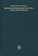 Expositio super Elementationem theologicam Procli, propositiones 160-183