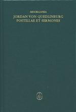 Miscellanea: Jordan von Quedlinburg, Opus Postillarum et Sermonum de Evangeliis dominicalibus. Opus Ior