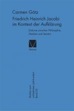 Friedrich Heinrich Jacobi im Kontext der Aufklärung
