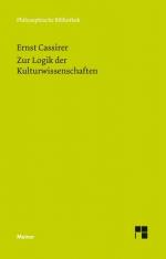 Zur Logik der Kulturwissenschaften. Fünf Studien