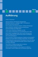 Aufklärung, Band 27: Winckelmann