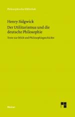 Der Utilitarismus und die deutsche Philosophie