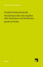 David Hume über den Glauben oder Idealismus und Realismus. Ein Gespräch