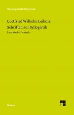 Schriften zur Syllogistik