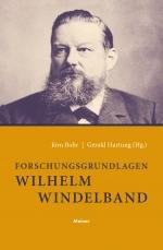 Forschungsgrundlagen Wilhelm Windelband