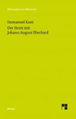 Der Streit mit Johann August Eberhard