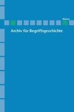 Archiv für Begriffsgeschichte. Band 54