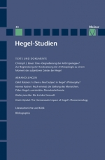 Hegel-Studien Band 43