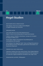 Hegel-Studien Band 51
