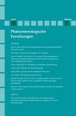 Phänomenologische Forschungen 2007
