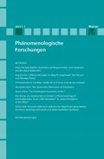 Phänomenologische Forschungen 2017-1