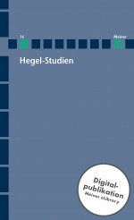 Hegel-Studien Band 36