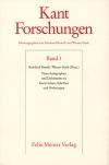 Neue Autographen und Dokumente zu Kants Leben, Schriften und Vorlesungen