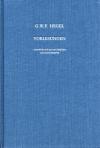 Vorlesungen über die Geschichte der Philosophie