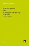 Sämtliche Werke, Bd. 2. Ethik in geometrischer Ordnung dargestellt