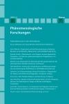Phänomenologische Forschungen 2019-2: Phenomenology and Pragmatism