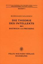 Die Theorie des Intellekts bei Dietrich von Freiberg