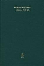 Opera omnia: Schriften zur Metaphysik und Theologie