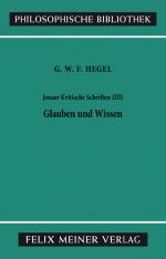 Jenaer Kritische Schriften (III)