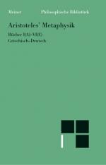 Metaphysik. Erster Halbband (Bücher I-VI)