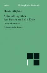 Philosophische Werke. Band 2. Disputation über das Wasser und die Erde