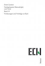 Vorlesungen und Vorträge zu Kant