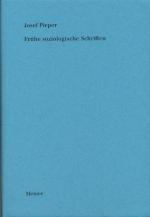 Frühe soziologische Schriften