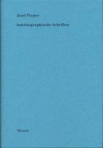 Autobiographische Schriften