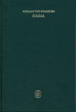 Summa, liber II, tract. 1-2
