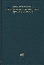 Expositio super Elementationem theologicam Procli, propositiones 136-159