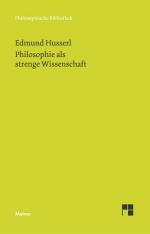 Philosophie als strenge Wissenschaft