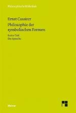 Philosophie der symbolischen Formen I: Die Sprache
